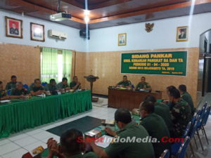 Pembinaan Karier Prajurit, Kodim 0815 Mojokerto Gelar Sidang Pankar