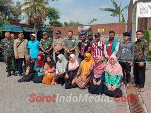 Mahasiswa Asal Papua Di Mojokerto Dijamin Keamanannya oleh Dandim