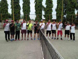 Dandim 0815/Mojokerto Beserta PJU Olahraga Bersama Pengurus KUD MPS Gondang