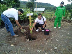 Peringati HPSN Dandim 0815/Mojokerto Bersama Forkopimda Tanam Pohon Di Lembah Mbencirang