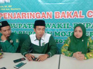 Partai PKB Secara Resmi Membuka penjaringan Calon Bupati Dan Wakil Bupati Mojokerto