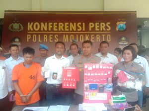 Pengedar Narkoba Asal Jatirejo Di Bekuk Dikost -Kosan Saat Operasi Bina Kusuma