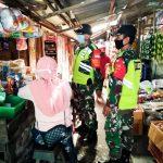 TNI Koramil Kapas Bojonegoro Laksanakan Patroli Himbauan Protokol Kesehatan Covid-19