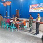 Koramil 05/Grogol kembali Kawal Penyaluran BST di Kecamatan Grogol, Tarokan dan Banyakan.