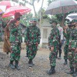 Dandim 0813/Bojonegoro dampingi Danrem Kunjungi Lokasi TMMD Imbangan 2020 Kodim Bojonegoro