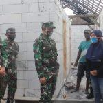 Danrem 082/CPYJ Tinjau Rehab RTLH Dalam Rangka HUT RI