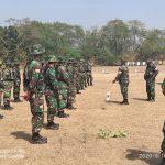 Tingkatkan Kemampuan Prajurit Korem 082/CPYJ melalui Latbak Jatri