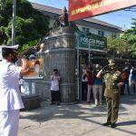 Danrem Sambut Ziarah Rombongan Pangkoarmada 2 Ke Makam Presiden RI Ke -4
