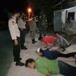 Operasi Yustisi Pemberlakuan Jam Malam Di Tuban, Pelanggar Protokol Kesehatan Dikenakan Sanksi Push Up