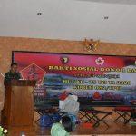 HUT TNI Ke-75, Prajurit Korem 082/CPYJ Donorkan Darah Untuk Kemanusiaan