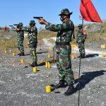 Kodim 0811 Tuban Gelar Latihan Menembak TW III Tahun 2020 Guna Asah Kemampuan Prajurit, Dengan Terapkan Protokol Kesehatan
