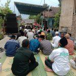 Lawan Corona KH Asep Menggelar Istigosah Bersama Warga Desa Penompo