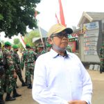 Pak Humaidi Kagum Dengan Semua Hasil Kerja TNI dalam TMMD 109 di Desa Kami. Tebluru
