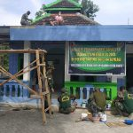 Mushola Nurul Hidayah Jadi Sasaran Karya Bakti Koramil 0815/06 Kemlagi