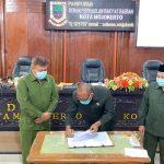 DPRD Kota Mojokerto Menggelar Rapat Pembahasan Raperda Penetapan Perda Kota Mojokerto