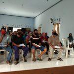 Babinsa Koramil 0809/10 Wates kembali bersinergi dengan Bhabinkamtibmas dan Pemerintah Desa Dampingi dan Kawal penyaluran BST Tahap IX