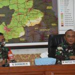 Tim Wasrik Itjen TNI Kunjungi Korem 082/CPYJ