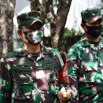 Danrem 082/ CPYJ Takziah ke kediaman Almarhum Letkol Purn Boimin