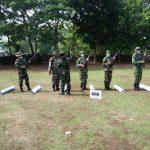 Pelihara Kemampuan Prajurit Ditengah Pandemi, Korem 082/CPYJ Gelar Latihan Menembak