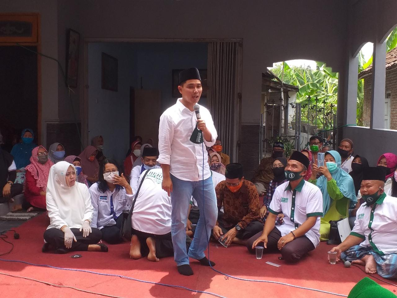 IKBAR Ambyarkan Pendukung Lain di Desa Mlirip Jetis Mojokerto.