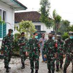 Danrem 082/CPYJ Tinjau Aset Tanah Milik TNI AD Di Kota Kediri