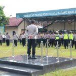 Kapolresta Mojokerto Pimpin Apel Jam Pimpinan ,Anggota Dapat Apresiasi merefleksikan TWT