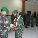 Dandim 0815/Mojokerto Sambut Personel Purna Tugas Satgas Apter Wilayah Kodam XVII/Cenderawasih