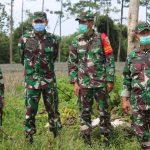Kunjungi Kediri, Danrem 082/CPYJ Tinjau Tanah Milik TNI AD