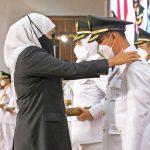 Pengambilan Sumpah Jabatan serta Pelantikan Bupati dan Wakil Bupati Mojokerto Terpilih Hasil Pilkada Serentak 2020