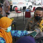 Anggota Polri di Polrestabes/ta Jajaran Polda Jatim, Hari Ini Serentak Menerima Vaksinasi Covid-19