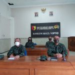 Prajurit Korp Hukum Korem 082/ CPYJ Ikuti Webinar Menyambut HUT Ke – 69 Korp Hukum TNI AD