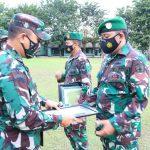 Apresiasi Prajurit Berprestasi, Dandim 0815/Mojokerto Berikan Reward