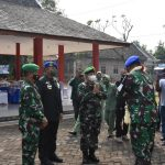 Danpuspomad Kunjungi Pendopo Agung Trowulan disambut Danrem 082/CPYJ dan Forkopimda Mojokerto