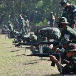 Asah Ketrampilan Prajurit, Korem 082/CPYJ Gelar Latihan Menembak