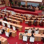 Sidang Paripurna, Bupati Mojokerto Sampaikan Jawaban atas pandangan Umum Fraksi Terkait Raperda P-APBD 2021