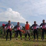 Danrem 082/CPYJ Gowes Jember – Banyuwangi Bareng Pangdam