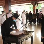 Bupati Mojokerto Melantik Pejabat Administrator dan Pengawas Pemkab Mojokerto