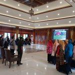 Danrem 082/CPYJ Hadiri Upacara Hari Jadi Ke-76 Provinsi Jawa Timur Secara Virtual