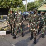 Danrem 082/CPYJ Dampingi Pangdam V/Brw Tinjau Kipan C Yonmek 521/DY