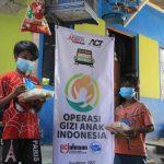 Humanity Medical Services ACT Surabaya Hadirkan Operasi Gizi Anak Indonesia Atasi Kasus Stunting SURABAYA .