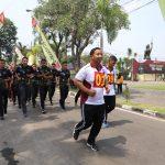 Jaga Kesehatan, Anggota Polres Mojokerto Laksanakan TKJ