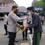 Peringati Hari Santri Nasional, Polresta Malang Kota Bagi – bagi Sembako ke Ponpes di Wilayah Kota Malang
