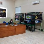 Danrem 082/CPYJ Ikuti Rakor Evaluasi PPKM Wilayah Jawa-Bali